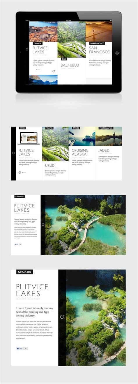 layout design for web application best 25 ipad app ideas on pinterest best list app the