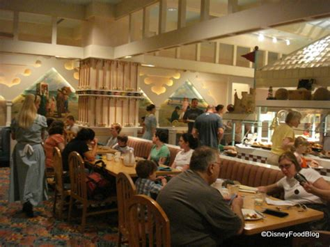 Dining Room Set With Buffet by Review Cape May Cafe Clambake The Disney Food Blog