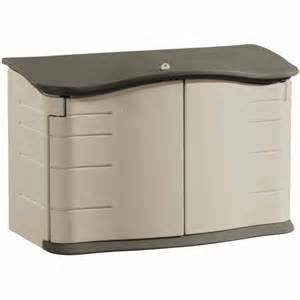 rubbermaid horizontal storage shed walmart