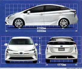 Toyota Prius Length 2016 Toyota Prius Specs Already Been Revealed