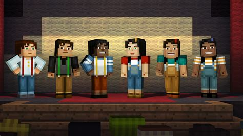 game mode for minecraft minecraft story mode a telltale games series