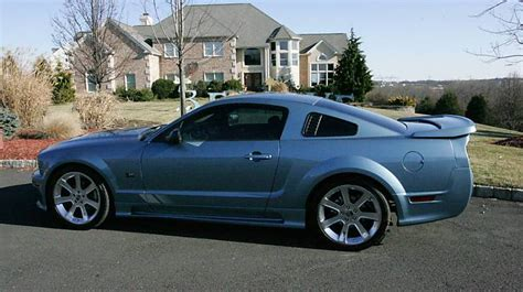 blue saleen mustang windveil blue 2006 saleen s281 ford mustang hardtop