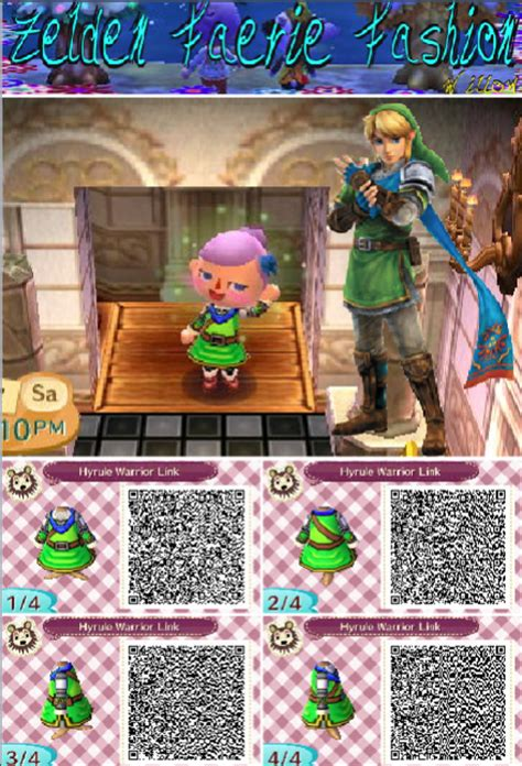 clothing themes new leaf hyrule warriors link animal crossing new leaf by