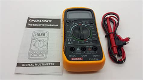 Multitester Surabaya multitester digital excel xl 830