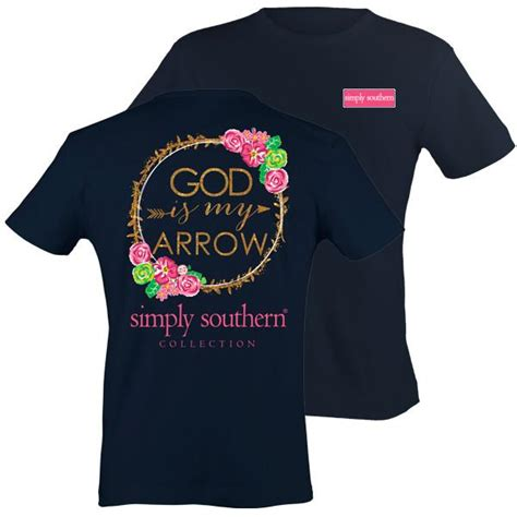 simply southern preppy god   arrow pattern  shirt simplycutetees