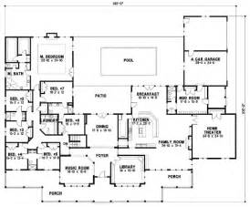 7 Bedroom House Plans Country Style House Plans Plan 21 994