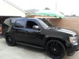 blacked out tahoe i trukz n cars