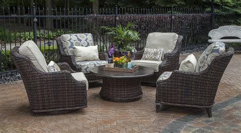 All Weather Wicker Patio Chairs Mila Collection All Weather Wicker Patio Furniture Conversation Set