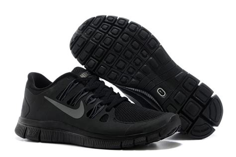 nike free 5 0 mens running shoes all black uk promotions