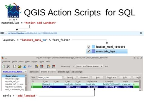qgis tutorial ppt presentation 2016 qgis action scripts sql
