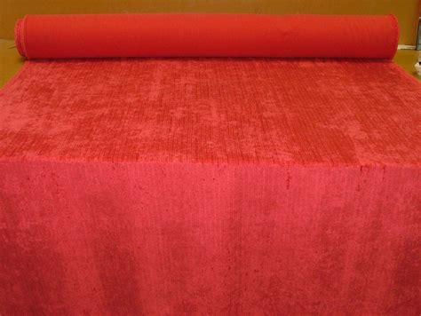 Fuschia Upholstery Fabric by Fuschia Soft Pile Designer Velvet Curtain Upholstery Fabric