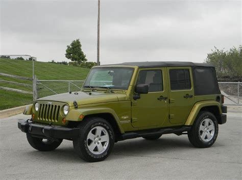 Used Jeep Wrangler Kansas City Jeep Wrangler Willys Wheeler Edition For Sale In Kansas