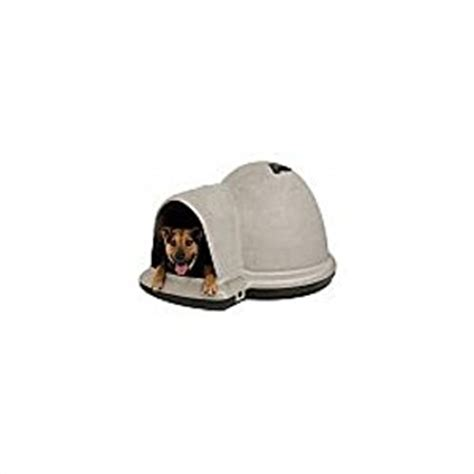 indigo igloo dog house amazon com petmate indigo dog house with microban medium taupe top black bottom