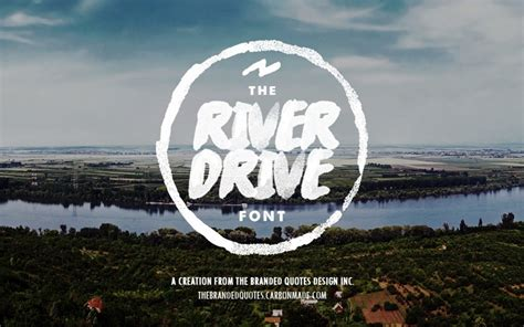 dafont surfing capital river drive font free design resources