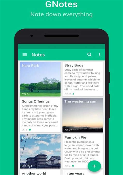 best notes app for android best notepad app for android phones and tablets