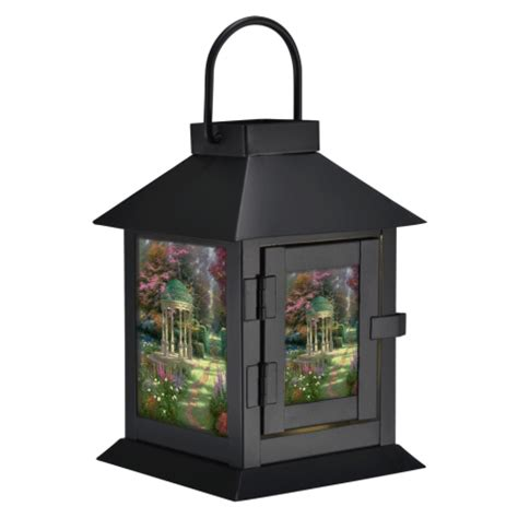 Led Giveaways - mail4rosey thomas kinkade quot garden of prayer quot led lantern giveaway