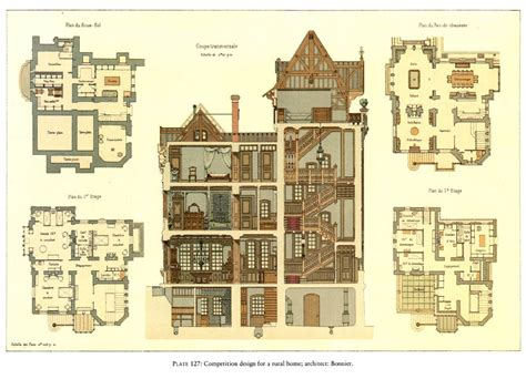 Victorian House Plan by Victorian House Pinteres