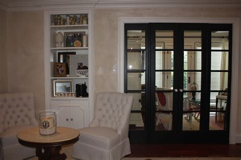 bedroom french doors black french doors and linen chairs on a friday playing