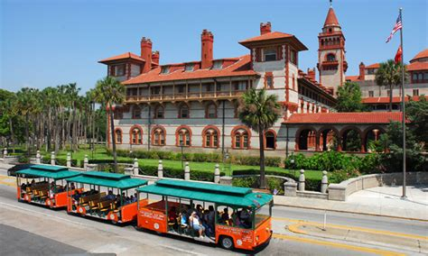 boat rides st augustine fl old town trolley tours visit st augustine