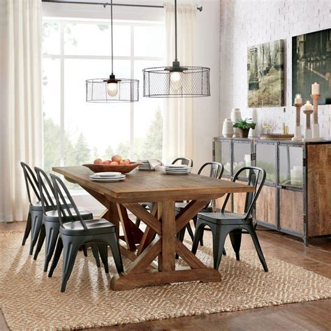 home decorators table home decorators collection cane bark dining table