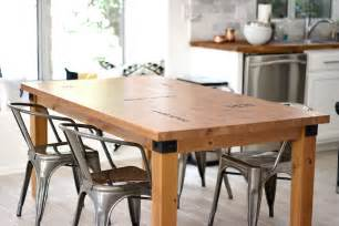 Kitchen Island Table With 4 Chairs kitchen table makeover caprese spaghetti kristi murphy