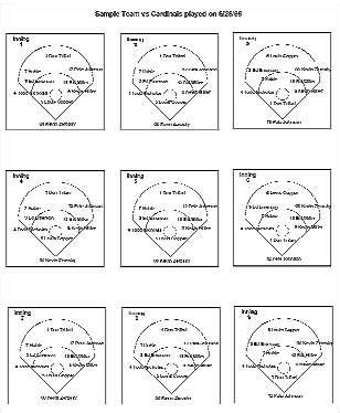 baseball fielding lineup template drag drop field layout