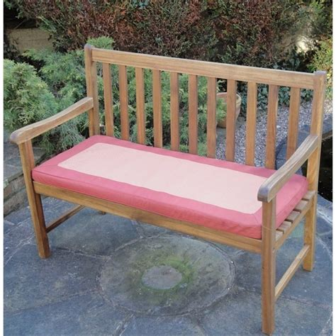 garden bench cushions 2 seater garden 2 seater cushion terracotta the garden factory