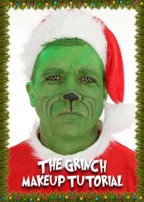 the grinch makeup tutorial a christmas diy halloween