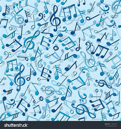 pattern music video seamless pattern music notes vector stock vector 113369128