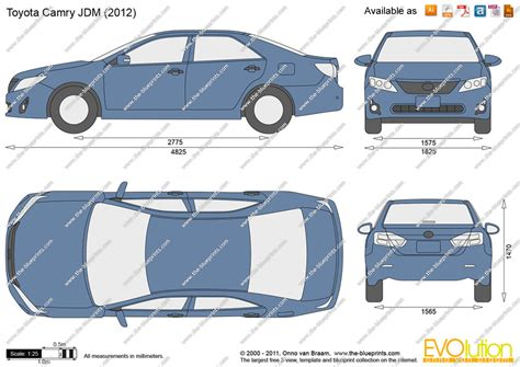 Toyota Camry Size Toyota Camry Dimensions 2017 Ototrends Net