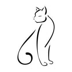 Cat Outline by Cat Outline Cat Outline And Cats