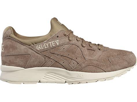 Sepatu Asics Tiger Womens Gel Lyte V Taupe Premium High Quality gel lyte v taupe grey taupe grey asics tiger united states