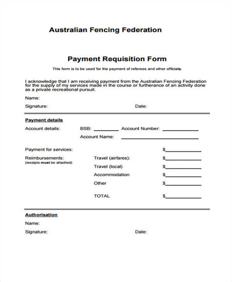 payment requisition form template 85 requisition form in pdf