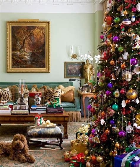 christmas themes with tone 9 christmas color combinations beyond red and green