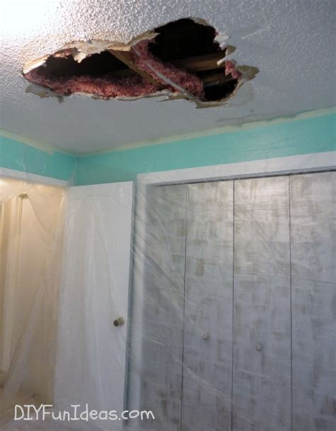 how to patch a in the ceiling how to repair a in your ceiling drywall