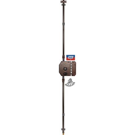 serrure 3 points 224 appliquer a2p iseo axe 61mm leroy