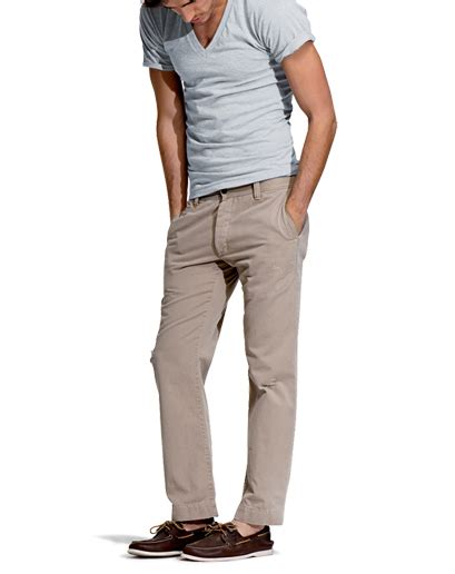 khaki pants and boat shoes dressing for less for men le fashion monster by deniz