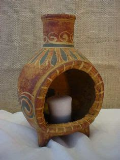 Mini Chiminea Candle Holder by Clay I Will And Will On