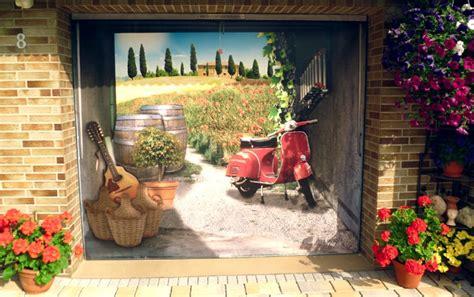 Roller Aufkleber Anbringen by Garagen Rolltore Individuelle Gestaltung Mit 3d Wandstickern