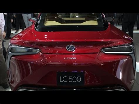 lexus reality lexus lc 500 brings concept to reality in detroit