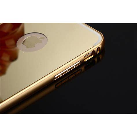 Murah Mirror Iphone 6 Alumunium Bumper Vs0f Aluminium Bumper With Mirror Back Cover For Iphone 7 8