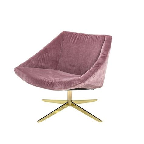 samt sessel rosa bloomingville upholstered armchair pink living