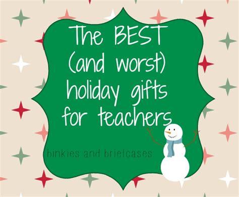 holiday gift ideas for teachers from a teacher binkies