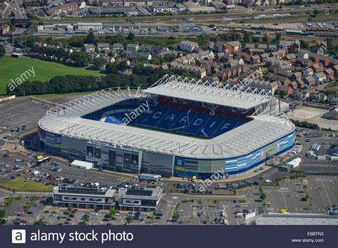 Cardiff City Home an aerial view of the cardiff city stadium home of