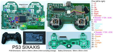 Ps3 Hdd 250gb Port 4 1 Stick Wireless playstation 3 schematic diagram get free image about
