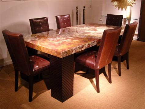 Granite Top Dining Room Table | granite top dining room table marceladick com