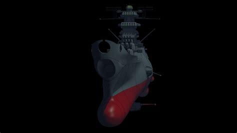 Blender Yamato blenderで宇宙戦艦ヤマト 甲板とか波除板とか