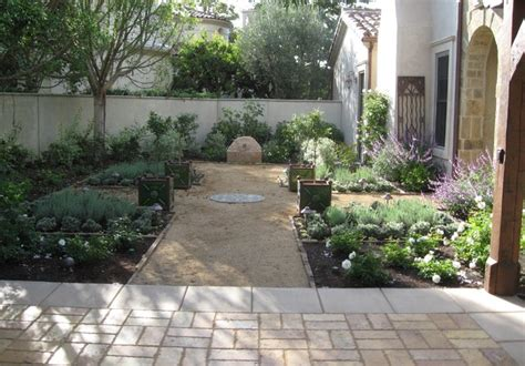 italian backyard landscape gardens home design elements