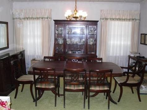 duncan phyfe dining room set pin by tricia turner on dining room furniture pinterest
