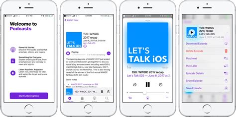 App Ios Basic Analytics Coming To Ios 11 S Podcasts App
